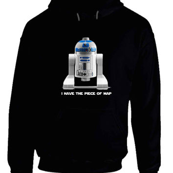 Star Wars The Force Awakens R Two I Have The Maps Hoodie