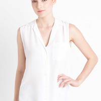 Shortsleeve Keira Shirt in Bright White