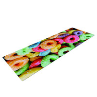 Fruit Loops Rainbow Cereal Yoga Mat