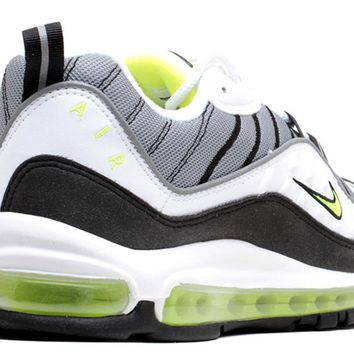 Nike Air Max 98 Cool Grey Volt Metallic Silver