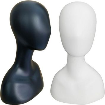 MN-517 Female Abstract Mannequin Head Form