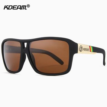 UV-Blocking Dragon Polarized Sunglasses Men Beach Sport Glasses Polaroid Unisex 60'mm Squared Sunglass With Free Package