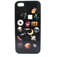 Grunge Emojis Phone Case