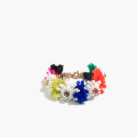 J.Crew Womens Beaded Blossom Bracelet