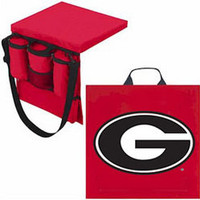 Georgia Bulldogs Seat Cushion and Tote
