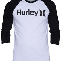 ONE & ONLY RAGLAN MENS PREMIUM FIT T-SHIRT