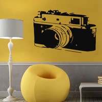 Wall Decals Vinyl Decal Sticker Art Murals Living Room Decor Photo Camera Kj906