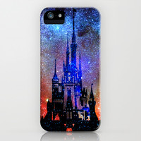 Fantasy Disney. Nebulae iPhone & iPod Case by Guido Montañés