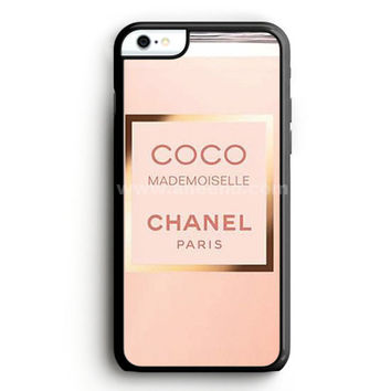 Coco Chanel Perfume Quotes Mademoiselle iPhone 6S Plus Case  | Aneend.com