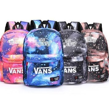 CREYONMI VANS Trending Fashion Sport Laptop Bag Shoulder School Bag Backpack