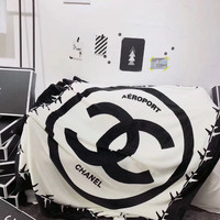 CHANEL/LV Conditioning Throw Blanket Quilt For Bedroom Living Rooms Sofa