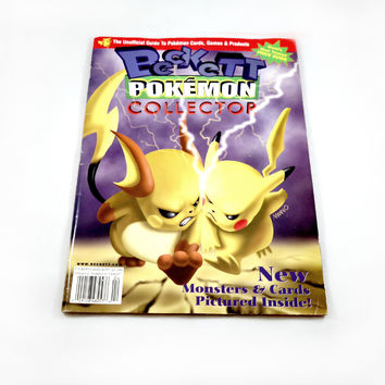 VINTAGE Pokemon Magazine - Like new!