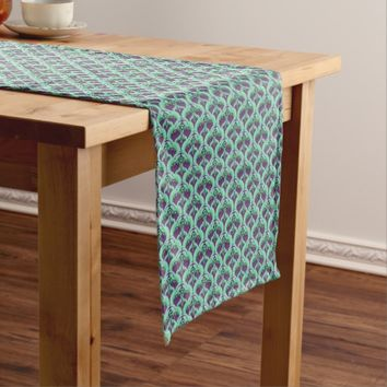Vintage Art Deco Print Table Runner