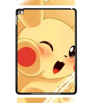 Pikachu Cute Pokemon L1275 iPad Air 2  Case