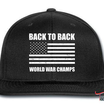 Back to Back World War Champs Snapback