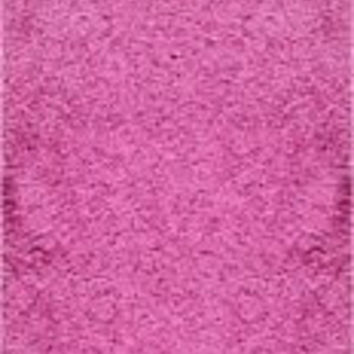Well Woven Runner Rug Madison Shag Plain Fuchsia Pink Modern Solid 20'' X 7'2'' Flokati Soft Plush Thick Rug 7047