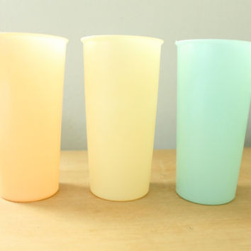 Tupperware Pastel Cups 1954
