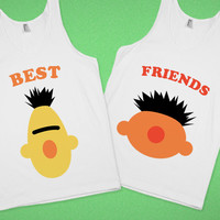 Best Friends (Bert n Ernie) Custom T-Shirts, Hoodies, Tees, Design a Tshirt.