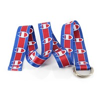 Champion New fashion logo print couple canvas belt