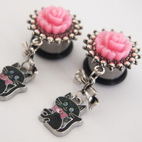 Glamsquared — Kawaii Kitten Dangle Plugs