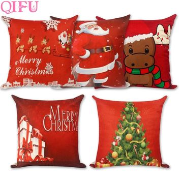 QIFU Decor Noel Christmas Decorations For Home Christmas Ornaments Christmas Santa Claus Gifts For The New Year 2019