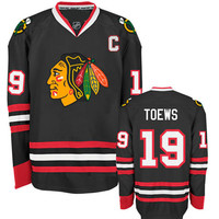 Chicago Blackhawks Jonathan Toews #19 Alternate Away Jersey