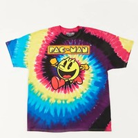Tie-Dye Pac-Man Graphic Tee