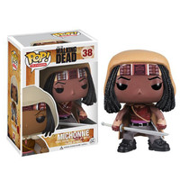 Funko POP The Walking Dead Michonne Vinyl Action Figure Model With Original Box WJ552