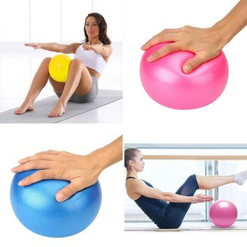 25cm Mini Yoga Ball Fitness Ball Fitness Exercise Balance Home Pods Pilates