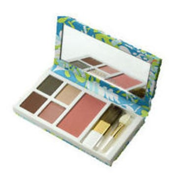 Estee Lauder 8 Shades Pure Color Mirrored Face Palette Lilly Pulitzer Collection