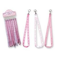 Pink Ribbon BREAST CANCER AWARENESS Lanyard, 1 piece, assorted | AihaZone Store