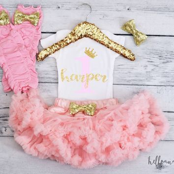 First Birthday Outfit Girl