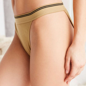 Out From Under Mid-Rise Ribbed Panty - Urban Outfitters