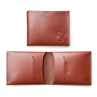 MINIMALIST WALLET (BROWN LEATHER)