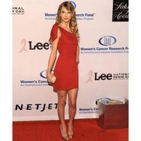 Taylor Swift Sheath Asymmetric Short Red Party Dress [TQL120301007] - $119.59 : wedding fashion, wedding dress, bridal dresses, wedding shoes