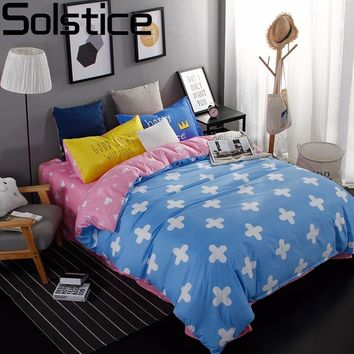 Fashion Bedding Set 3/4pcs Duvet Cover Set Twin Full Queen King Size Bed Set Bed Sheet Linen Bedclothes Pillowcases