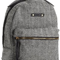 Chick&Stylish - Hurley Women's Market Backpack, Black Gray, One Size