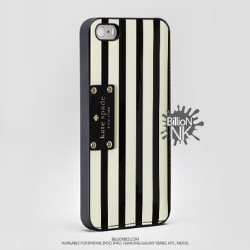 Kate Spade Stripted , For Apple, Iphone, Ipod, Samsung Galaxy Case