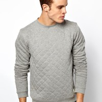 Jack & Jones | Jack & Jones Quilted SweatShirt at ASOS