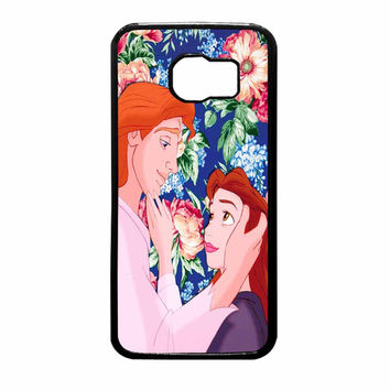 Beauty And The Beast Floral Samsung Galaxy S6 Case