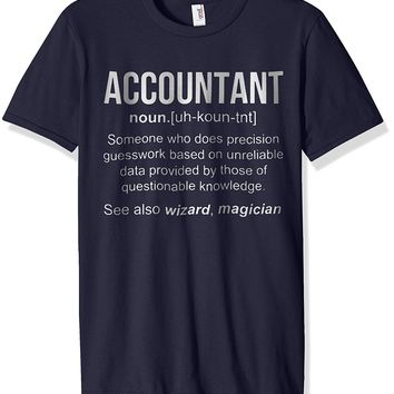 Funny Accountant Meaning T Shirt- Accountant Noun Definition