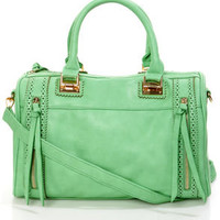 Brogue-in' Dreams Mint Handbag by Urban Expressions