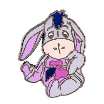 Disney Parks Baby Eeyore Pin New with Card