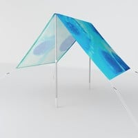 Ephemeral Pools Sun Shade by duckyb