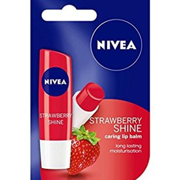 Nivea Lip Care Fruity Shine Strawberry, 4.8g