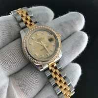 Rolex Datejust Two Tone 179383 Gold Diamond Dial/Bezel 'G' Serial 2010 w/ Papers