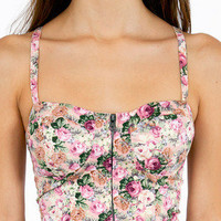 Floral Meadow Bustier $26