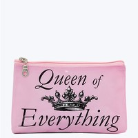 Queen Of Everything Makeup Bag
