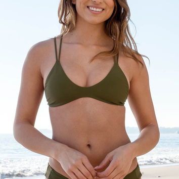 Stone Fox Swim - Indie Top | Olive
