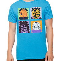 Naruto Shippuden Four Masks T-Shirt